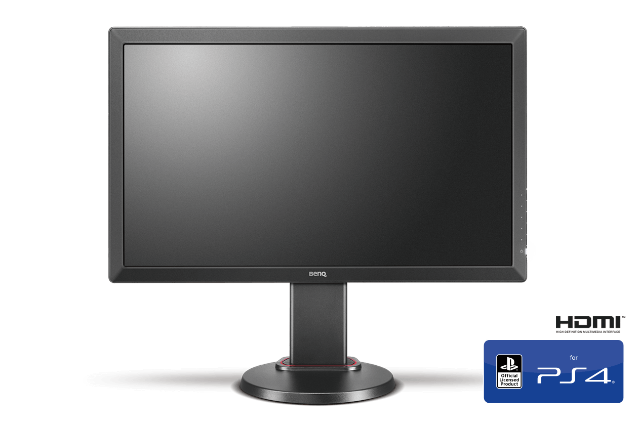 zowie rl2460 console esports monitor officially licensed by playstation ps4